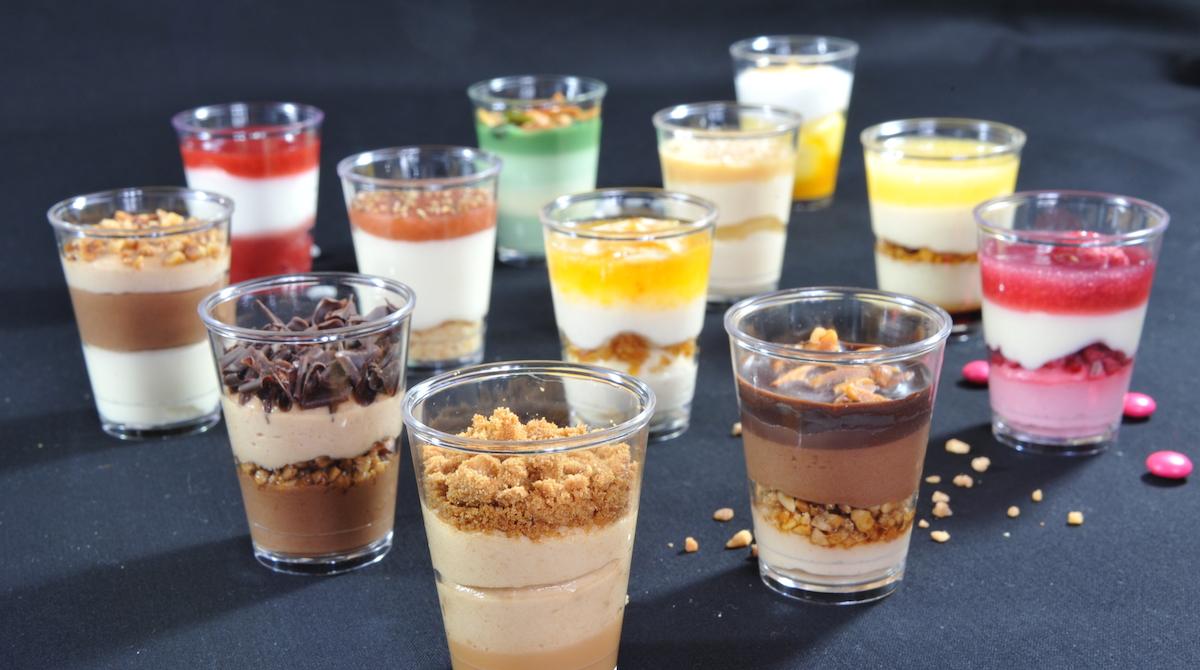 semifreddi in bicchiere praline lezioni cucina