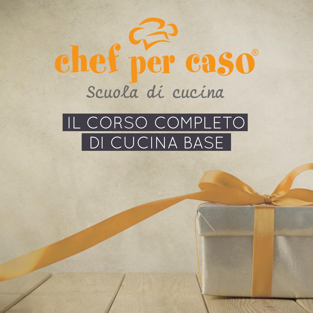 Buono regalo corso completo cucina base – Chef per caso