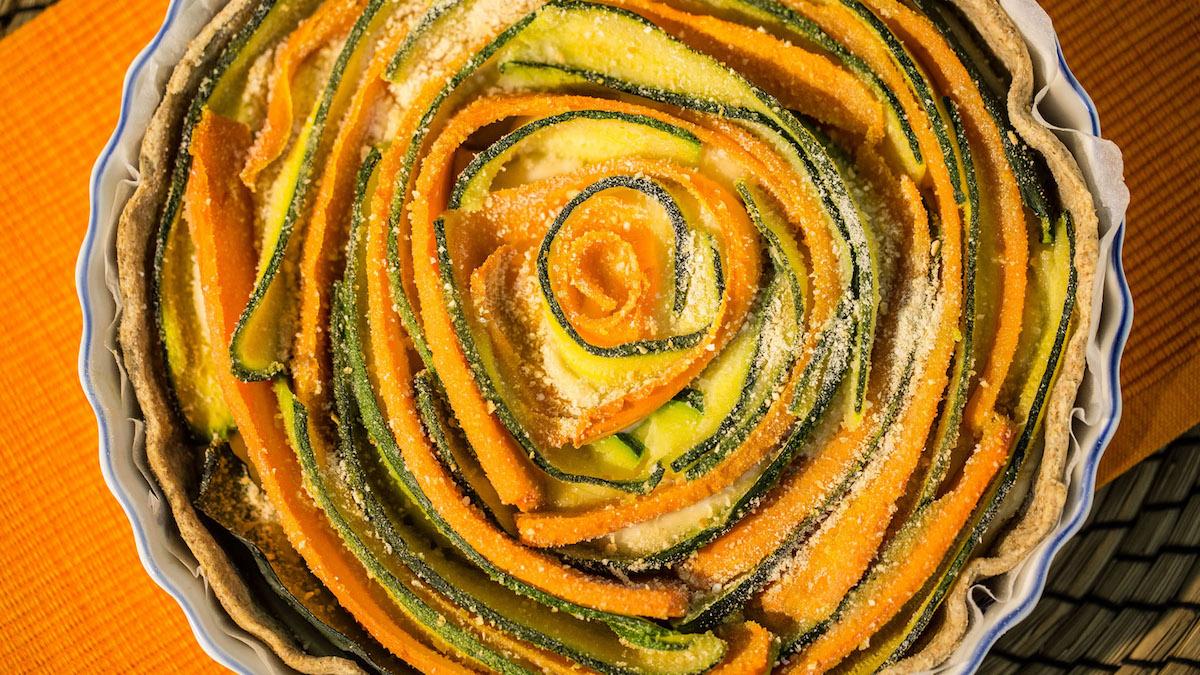 torta salata vegana macrobiotica